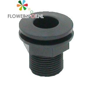 Afvoer deense bodem compleet  (afvoer/rubber ring/pvc ring)