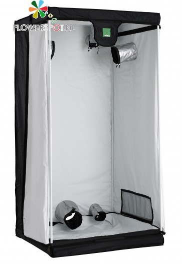 Budbox white     120x 120x 200 cm.