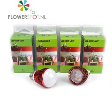 E27 LED Bulb, FLOWERING B07 7Watt, 120º, voor Professionele BLOEI-stimulatie