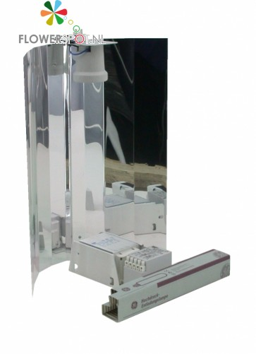 Zelfbouwset 400 W ELT - GE Lucalox- Spiegelkap