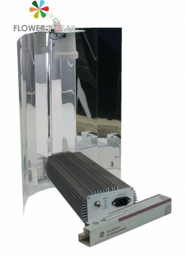 Zelfbouwset 600 W BAL - GE Lucalox - Spiegelkap