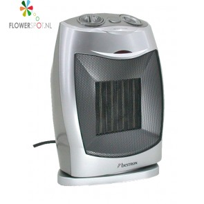 Euromac  keram. kachel  sf 1525  incl. thermost. 1500w
