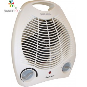 Euromac ventilator kachel VK2002 incl thermostaat 2000W