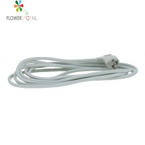 Vmvl kabel+stekker 3x1,5 mm 4mtr