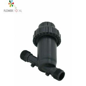 Waterfilter 2 + Kraan incl. 2 x Koppeling Binnendraad