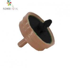 Cnl ventiel   8 ltr p/uur     groen/bruin