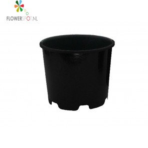 Pe  pot rond   25 ltr.  35 ø     laag model