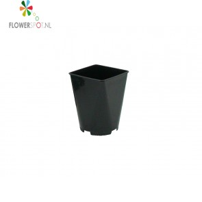 Pp  pot vierkant 3,5 ltr.  15x15x20 cm.