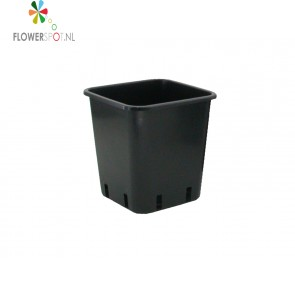 Pp  pot vierkant 5,7 ltr.  20x20x23 cm.