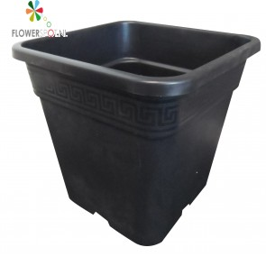Pp  pot vierkant 14 ltr. 28,5x28,5x28,5cm