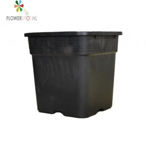 Pp  pot vierkant 25 ltr.  33,5x33,5x33,5 cm