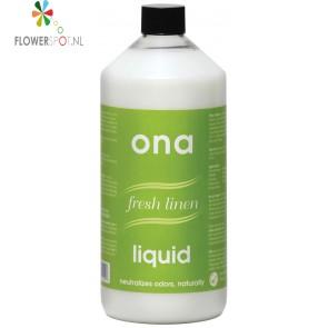 Ona liquid fresh linen 1 ltr. fles