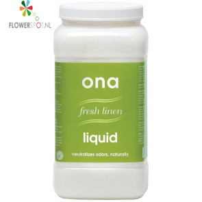 Ona liquid fresh linen 4 ltr. pot