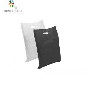 Draagtas zwart  45x50 cm.     (500 st.)
