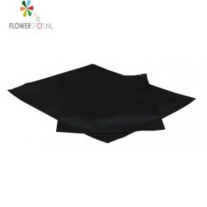 Strijkzak  zwart  groot  560x910 mm.
