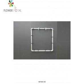 Aluminium frame t.b.v. eetbare wand® met negen pockets