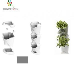 Minigarden corner, grijs (54 x 13 x 13 cm)