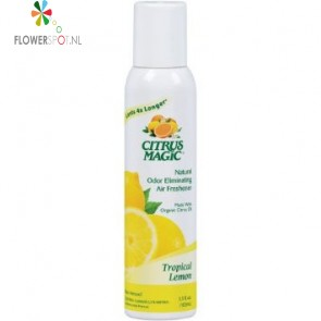 Citrus magic tropical lemon spray