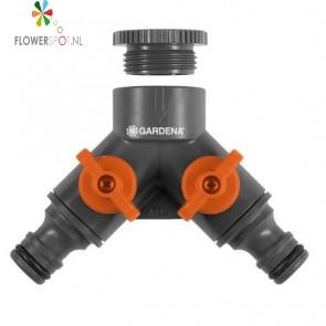 """Gardena 2-Weg Waterverdeler 33,3 mm (G 1"""")"""