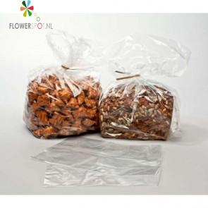 Plastic Zijvouw Zakken 25,4x10,2x50,8cm (200 Stuks)
