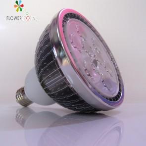 """E27 LED Bulb, SUN E18 18Watt, 60º, """"Warm Wit"""" voor Groei en Bloei"""