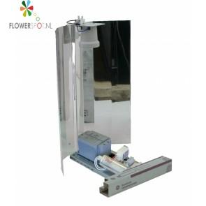 Zelfbouwset 400 W Philips LuxGear-Ge Lucalox-Spiegelkap